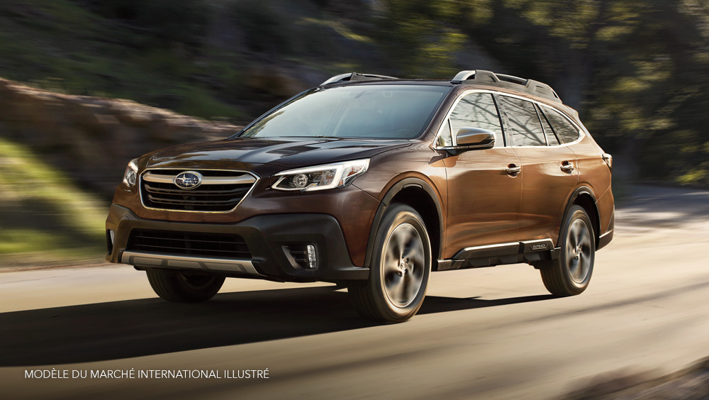 Subaru Outback 2020 creates increased confidence behind the wheel
