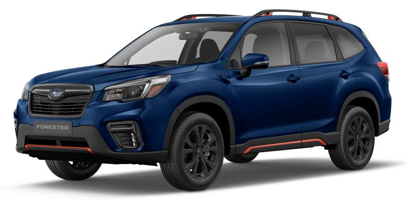 Traction intégrale Subaru Forester